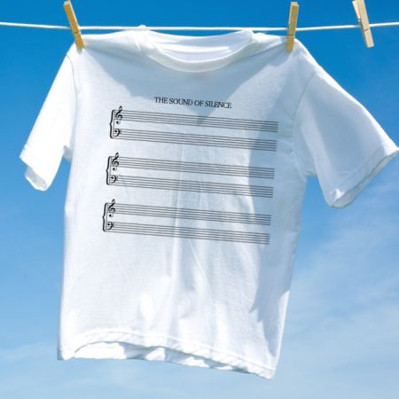 Camiseta The Sound of Silence