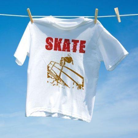 Camiseta Skate Caveira Skull