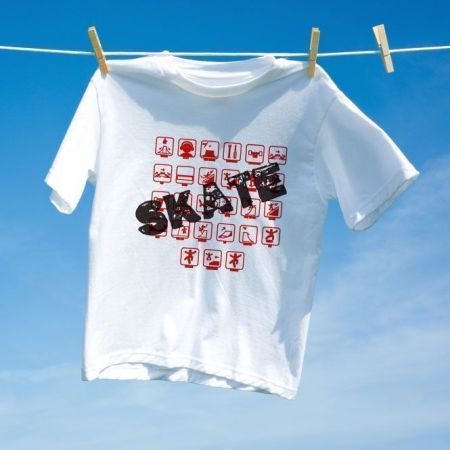 Camiseta Skate Pictograms