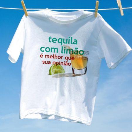 Camiseta Tequila com Limão