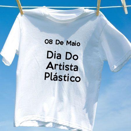 Camiseta Dia Do Artista Plástico