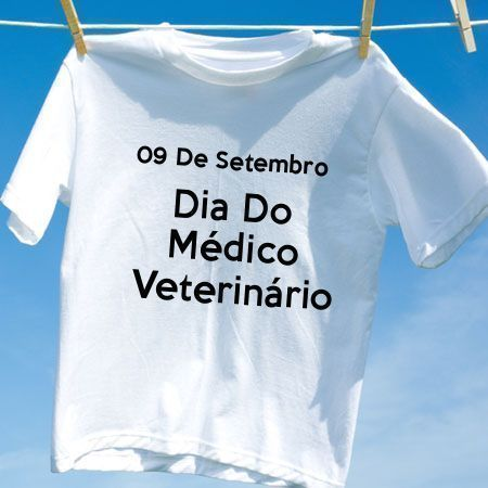 Camiseta Dia Do Médico Veterinário