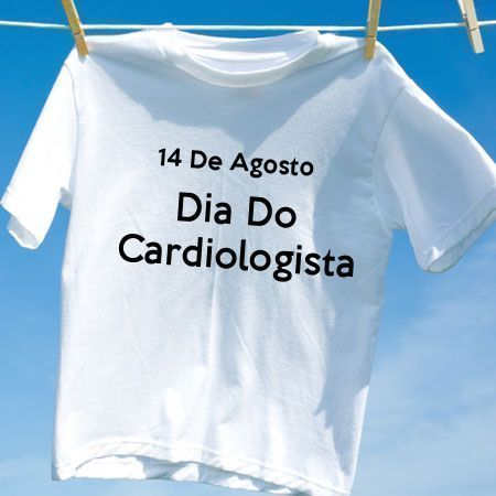Camiseta Dia Do Cardiologista