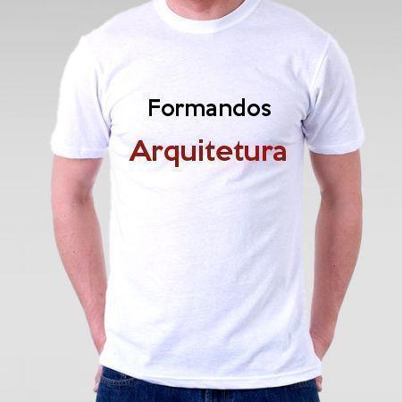 Camiseta Formandos Arquitetura