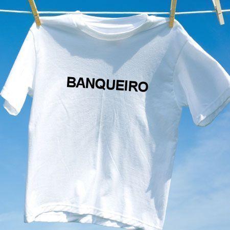 Camiseta Banqueiro