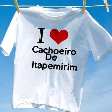 Camiseta Cachoeiro de itapemirim - Camisetas Personalizadas - eCamisetas c5b4d69298f