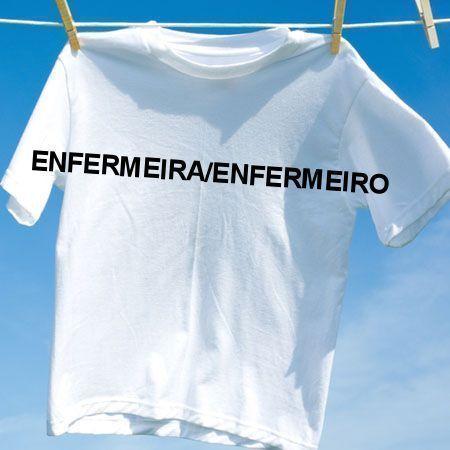 Camiseta Enfermeiraenfermeiro
