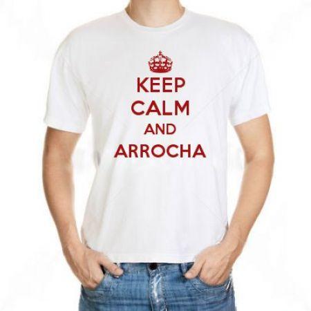 Camiseta Keep Calm And Arrocha