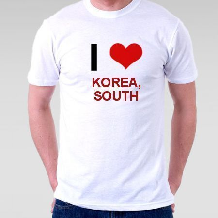 Camiseta Korea, South