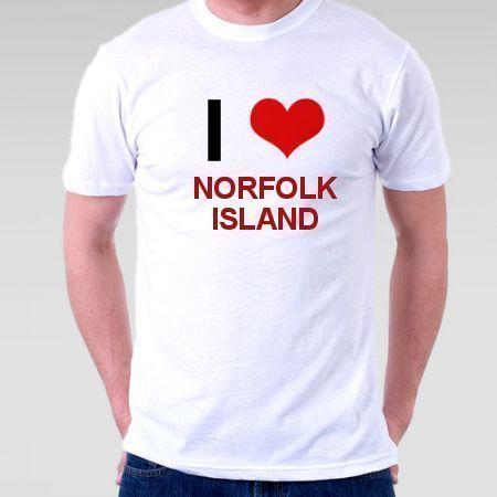 Camiseta Norfolk Island