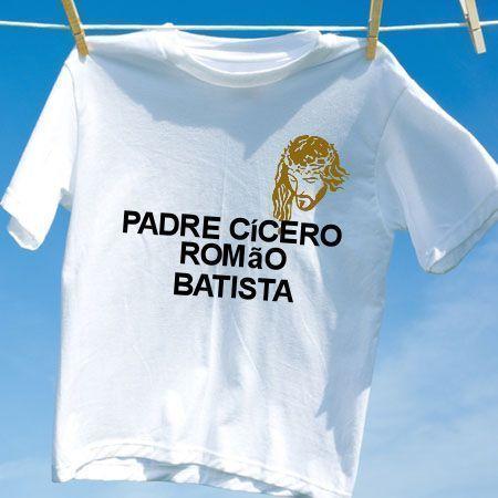 Camiseta Padre cicero romao batista