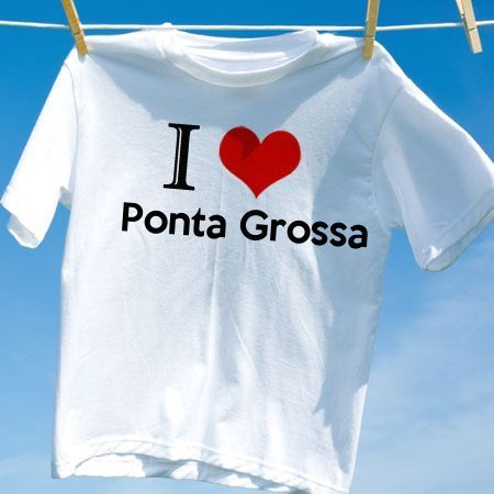 Camiseta Ponta grossa