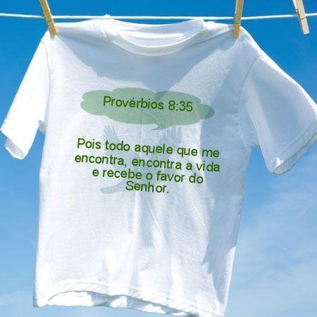 Camiseta Provérbios 8 35
