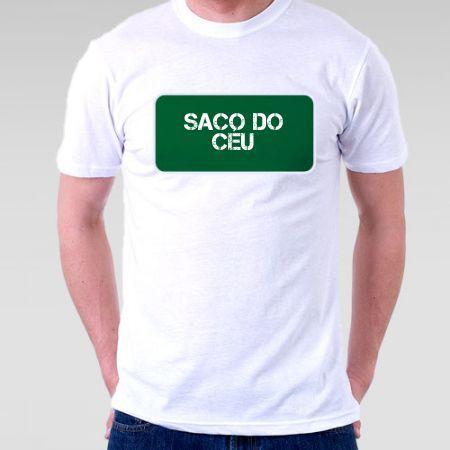 Camiseta Praia Saco Do Céu