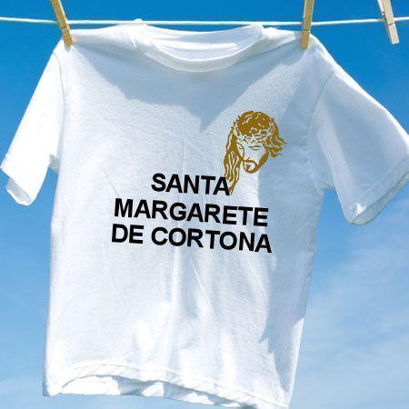 camiseta santa margarete de cortona camisetas personalizadas
