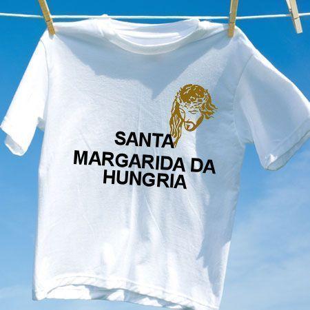 Camiseta Santa margarida da hungria