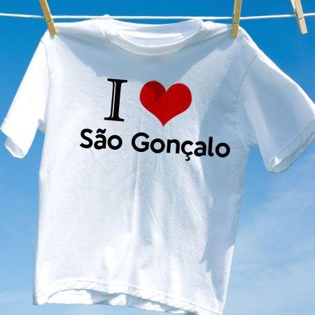 Camiseta Sao goncalo