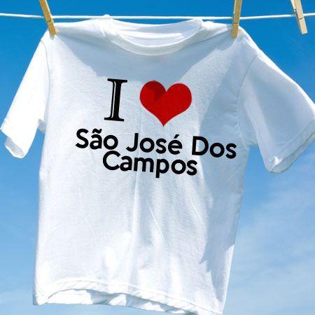 Camiseta Sao jose dos campos - Camisetas Personalizadas - eCamisetas 4792ac0dc4974