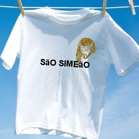 Camiseta Sao simeao