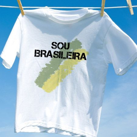 Camiseta Sou brasileira