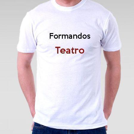 Camiseta Formandos Teatro