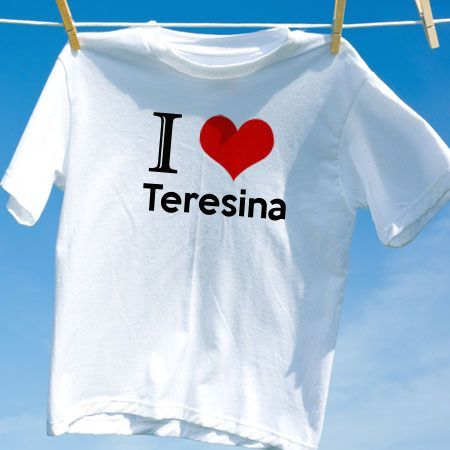 Camiseta Teresina - Camisetas Personalizadas - eCamisetas ba790420f88