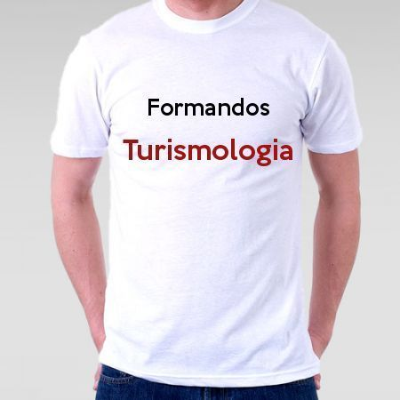 Camiseta Formandos Turismologia