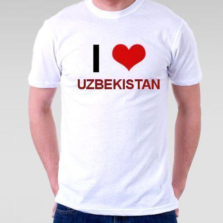 Camiseta Uzbekistan