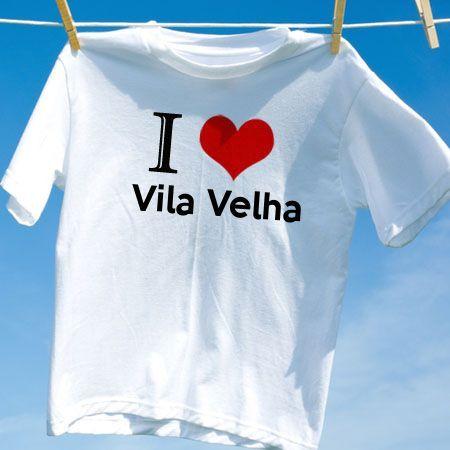Camiseta Vila velha