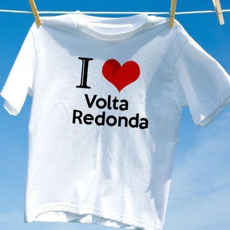 Camiseta Volta redonda