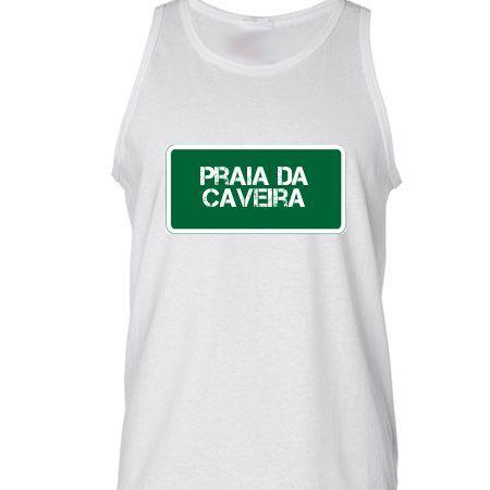 Camiseta Regata Praia Praia Da Caveira