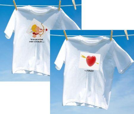 Camiseta Casal Cupido