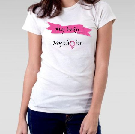 Camiseta Feminista My Body My Choice