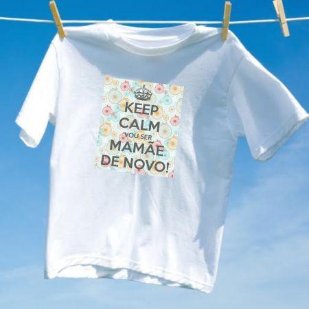 Camiseta Vou ser mamãe de novo