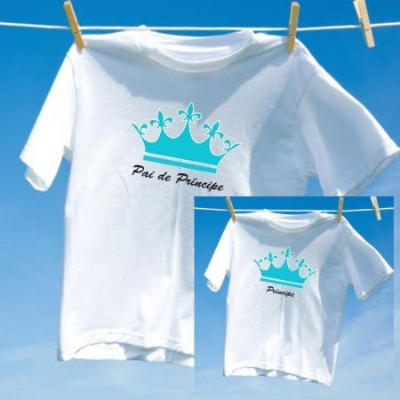 Camiseta Pai Príncipe