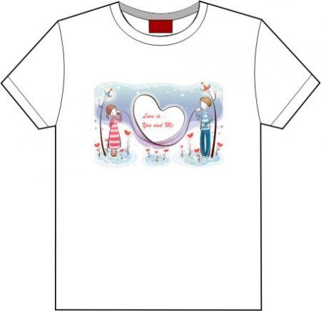 Camiseta Dia dos namorados Love is...