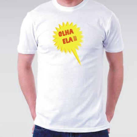 Camiseta Olha ela masculina