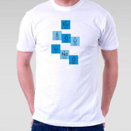 Camiseta Masculina Tabela Pediodica
