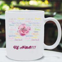 Caneca Mãe Flor