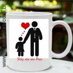 Caneca amo papai 2