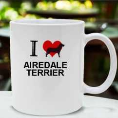Caneca Airedale terrier