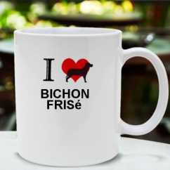 Caneca Bichon frise