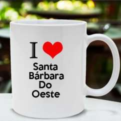 Caneca Santa barbara do oeste