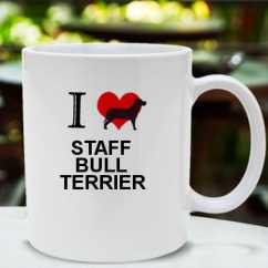 Caneca Staff bull terrier