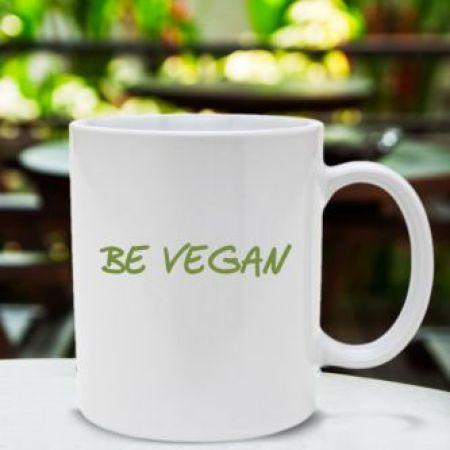 Caneca Be Vegan