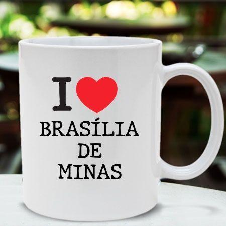 Caneca Brasilia de minas