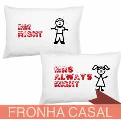 Fronha Casal Mr Right