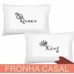 Fronha Casal King and Queen
