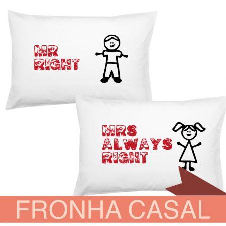 Fronha Casal Mr Right