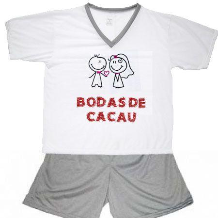 Pijama Bodas De Cacau